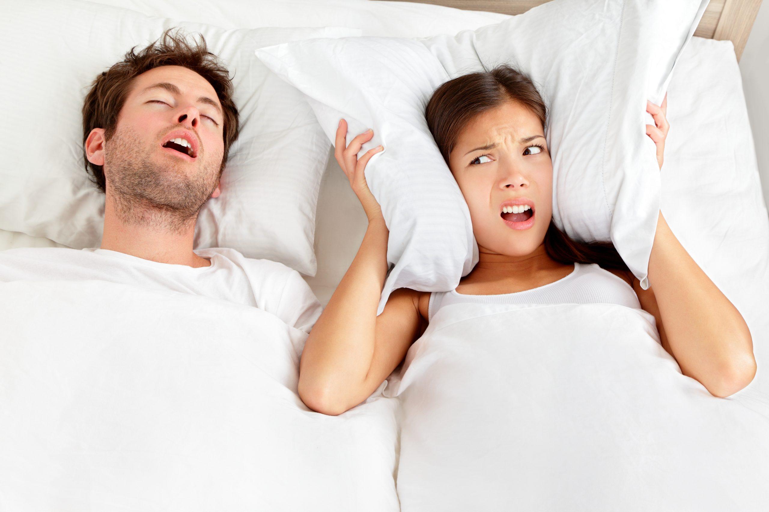 Mit Schnarcherschiene endlich wieder durchschlafen